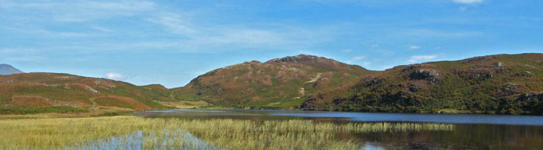 Looking to Beacon Fell from the shore of Beacon Tarn © Dave Brown