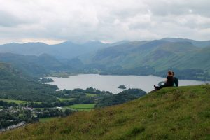 View from the top of Latrigg © Roger Hiley www.loweswatercam.co.uk